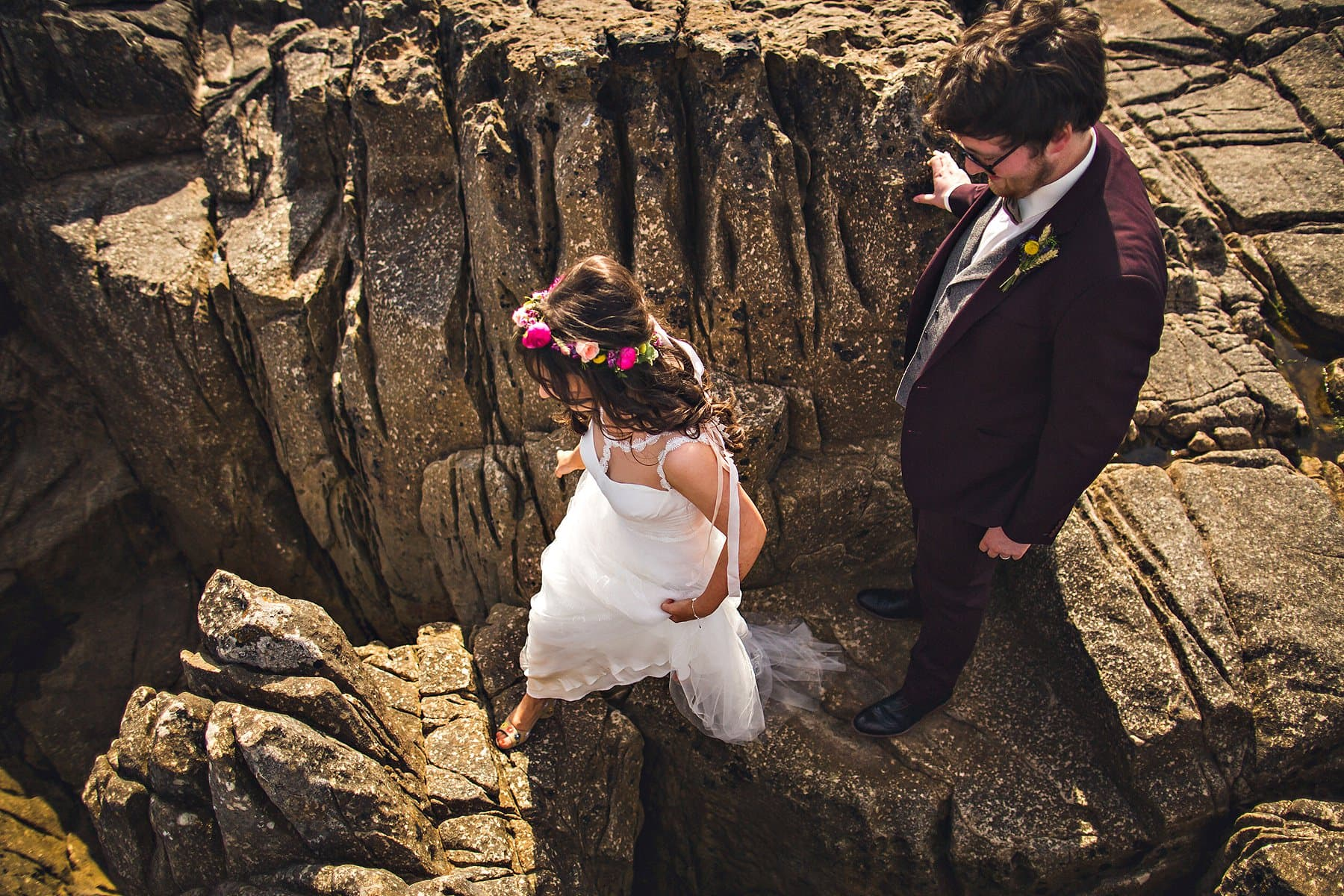 Bride Groom Adventure North Coast Wedding Photographer,