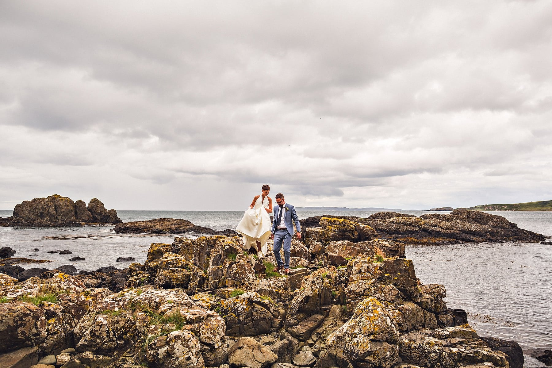 Bride Groom Mountain North Coastline Wedding Photographer,