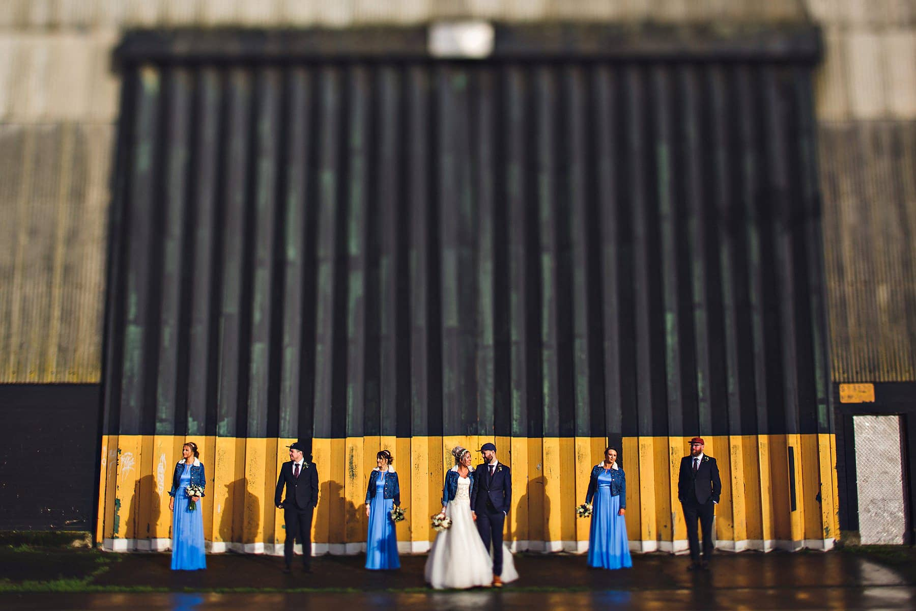 Bridal Party Belfast Docks Northern Ireland Wedding Photographer,