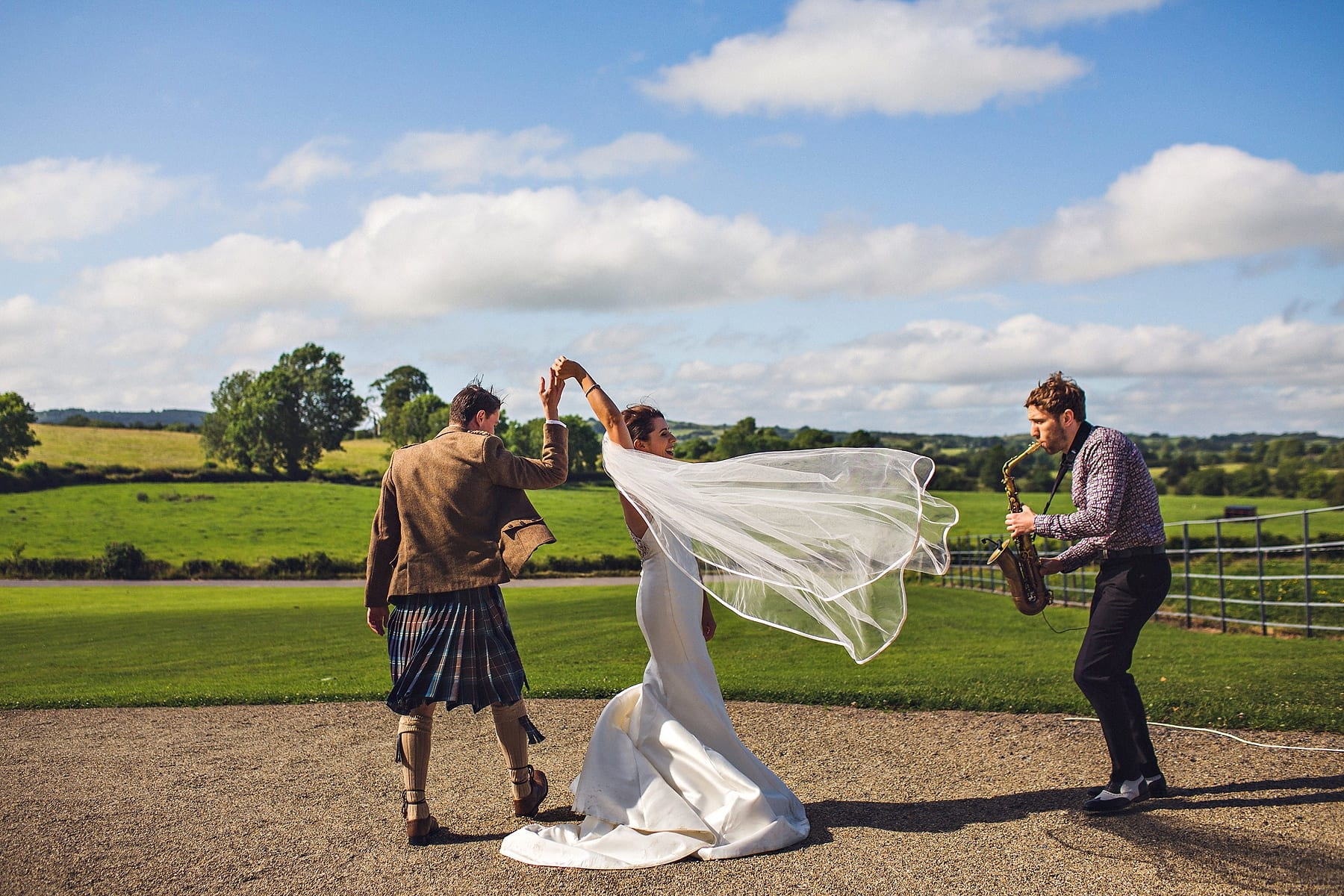 Bride Groom Dance Clonabreany House Ireland Wedding Photographer,