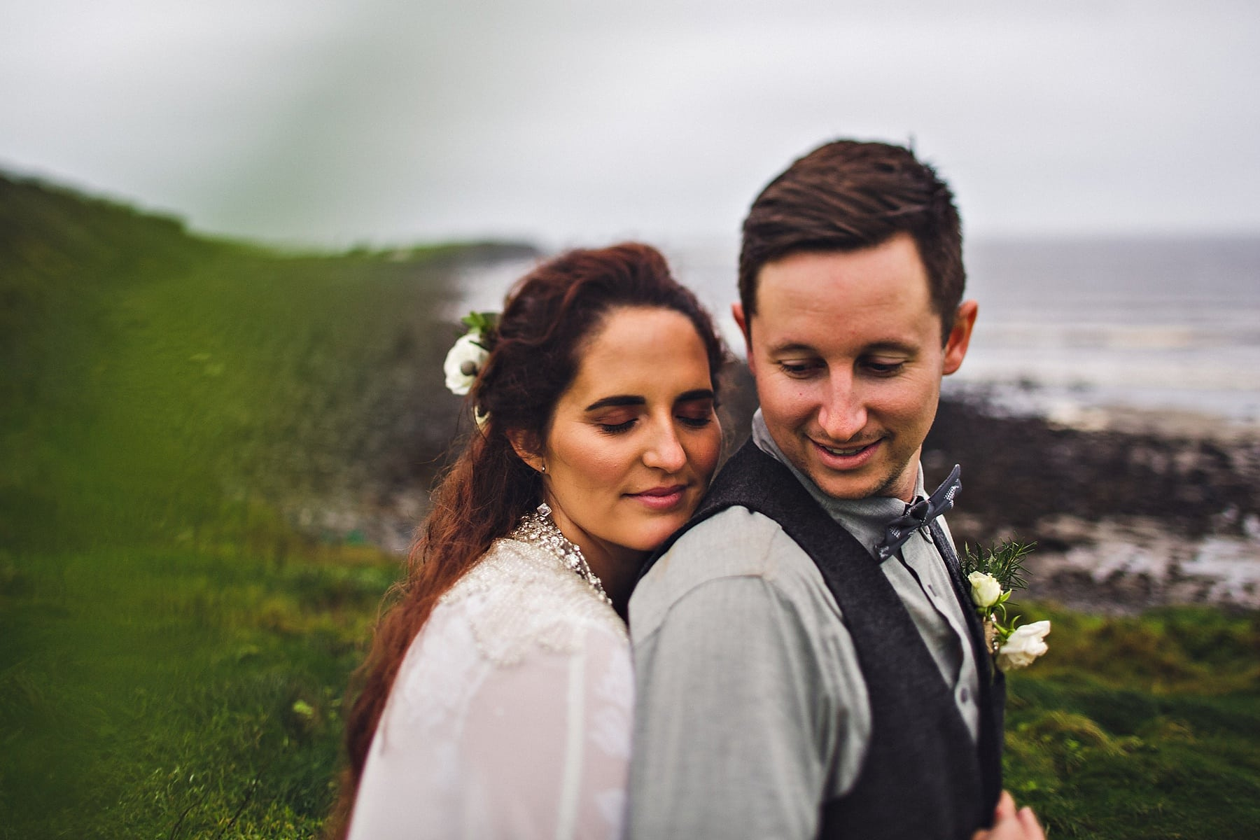 Elopement Cliffs of Moher Ireland Wedding Photographer,