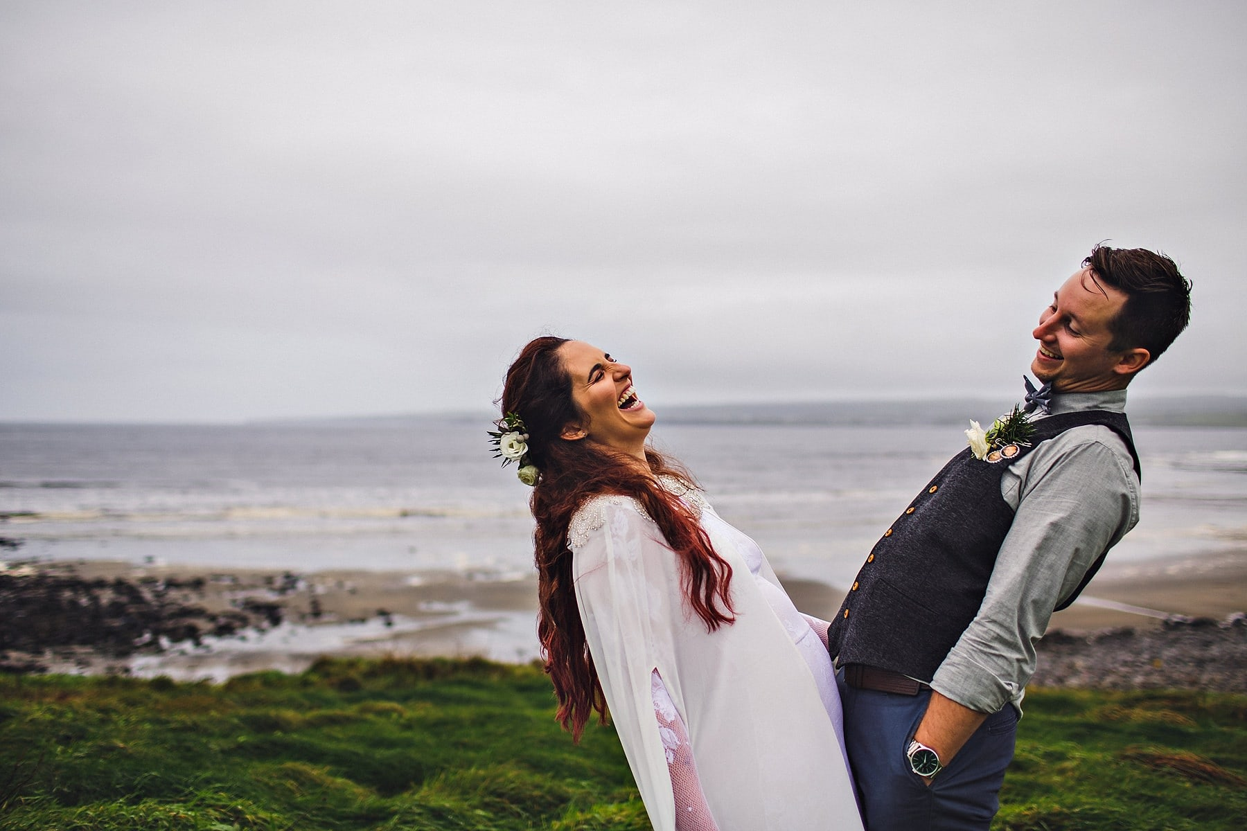 American Elopement Ireland Wedding Photographer,