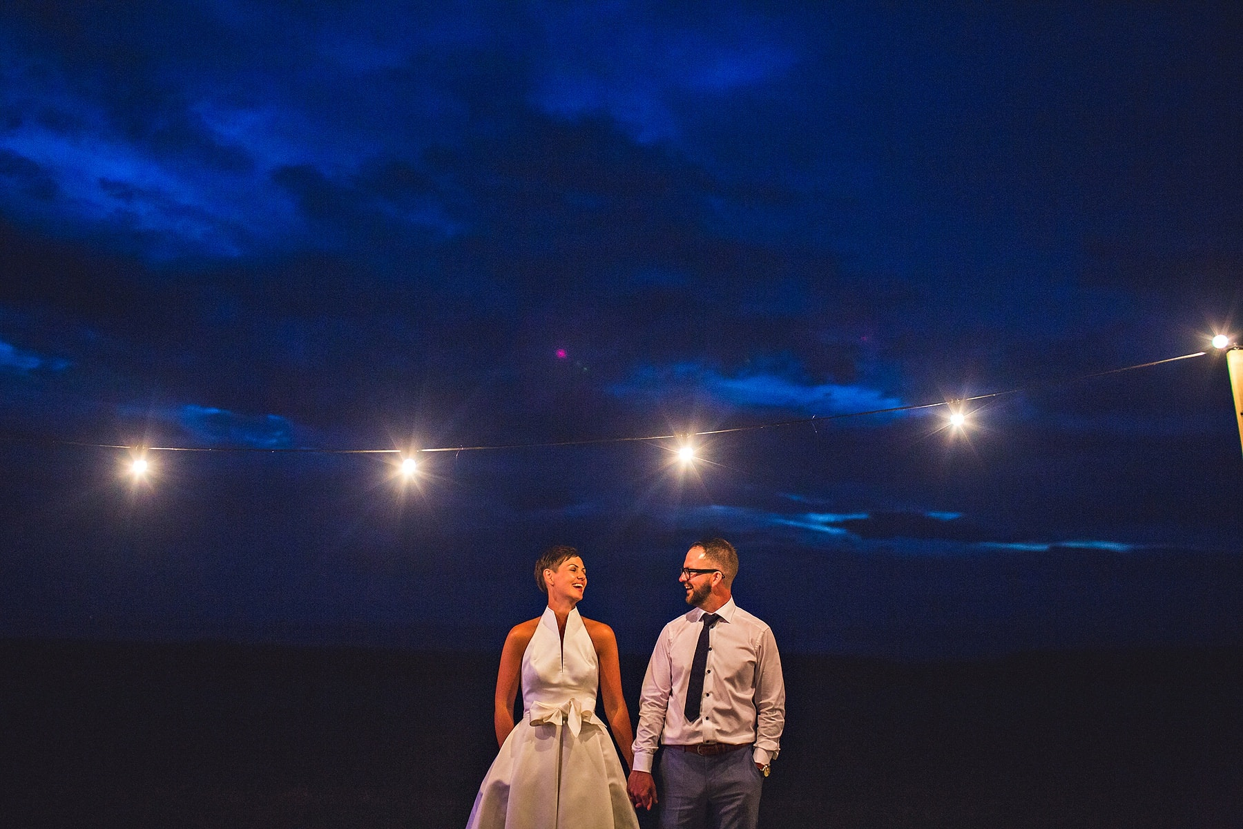 Bride Groom McShane Glen Night North Coast Wedding Photgrapher,