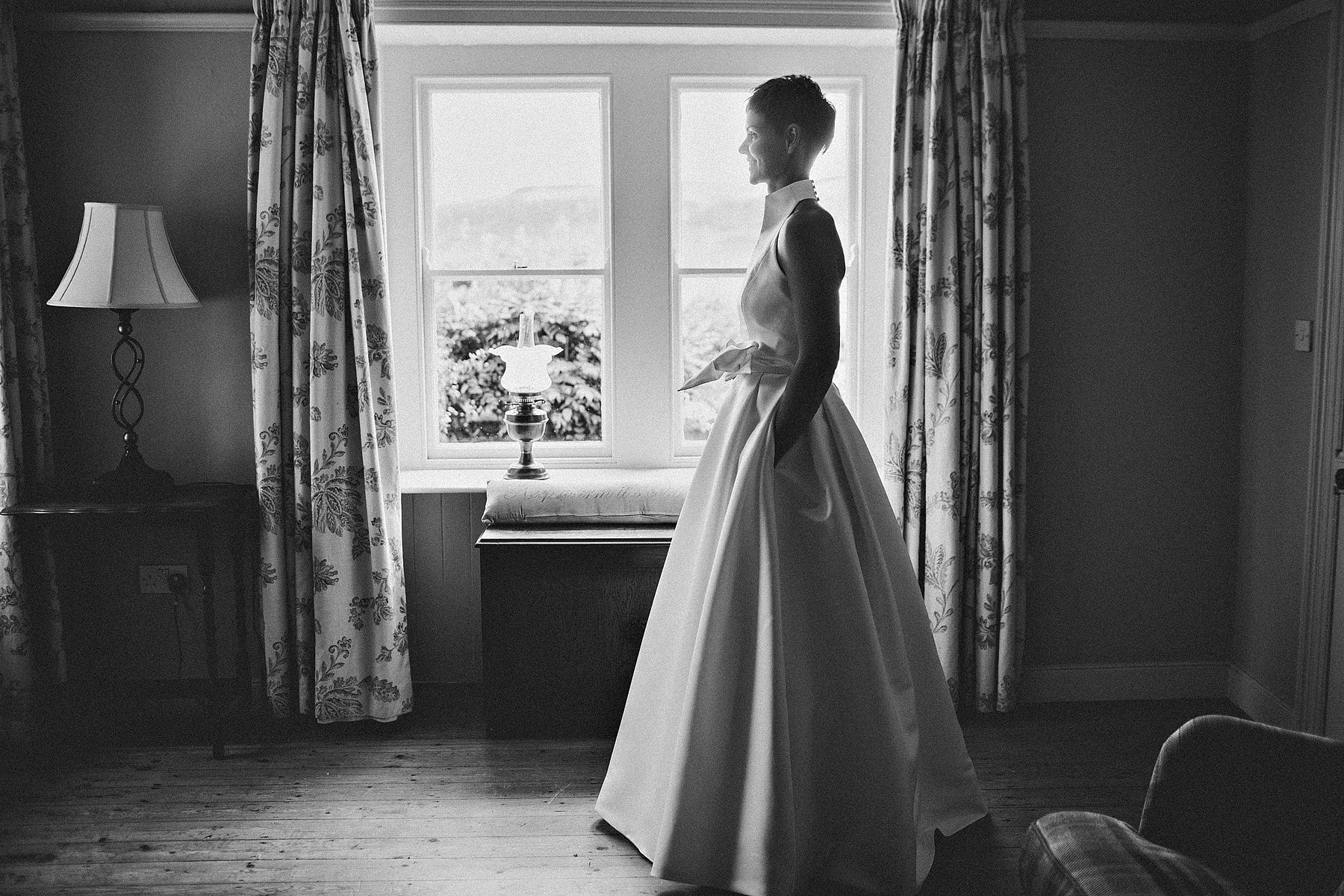Bride Portbradden North Coast Wedding Photographer,