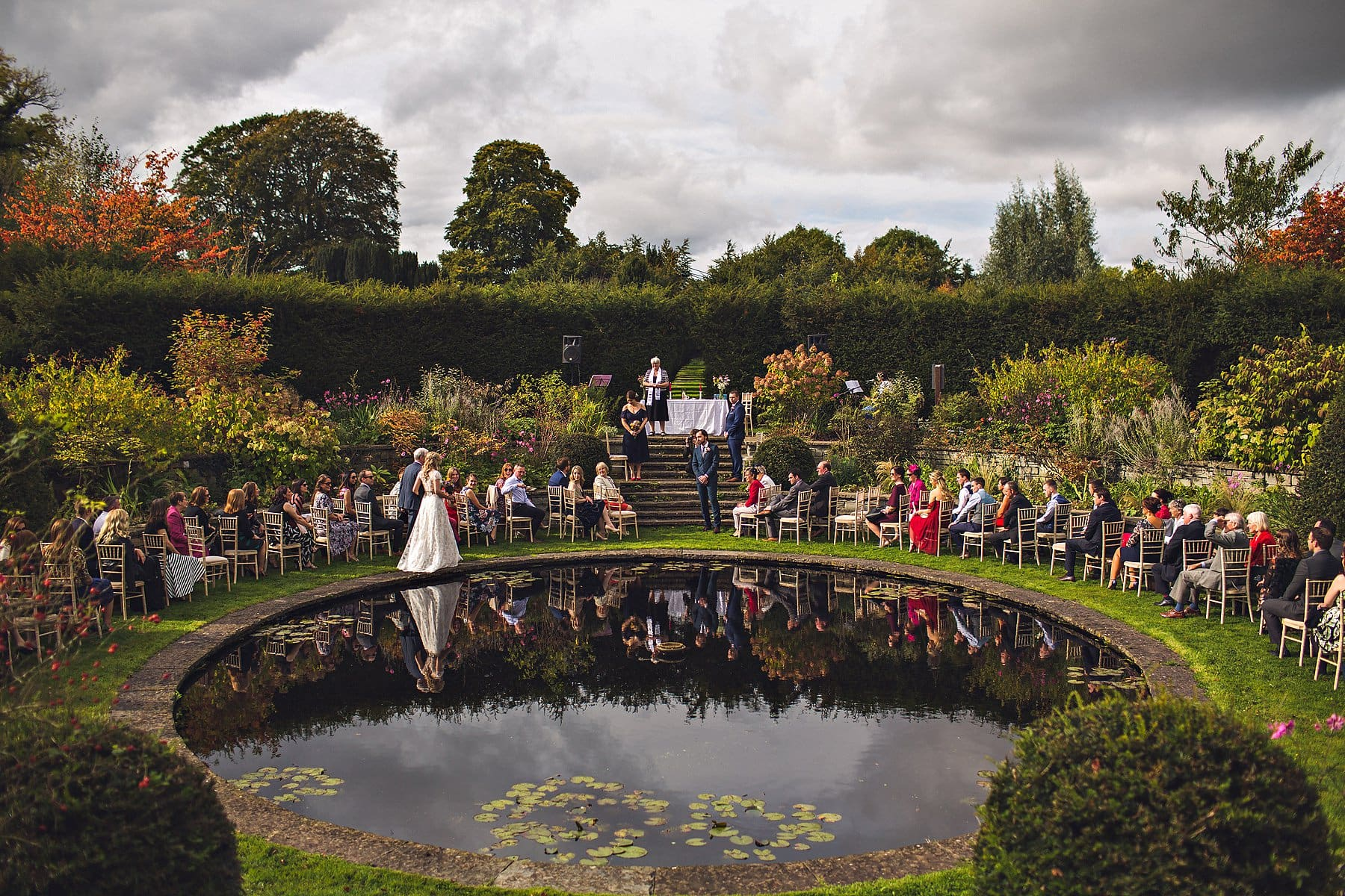 Ballintubbert House Outdoor Ceremony Ireland Wedding Photographer,