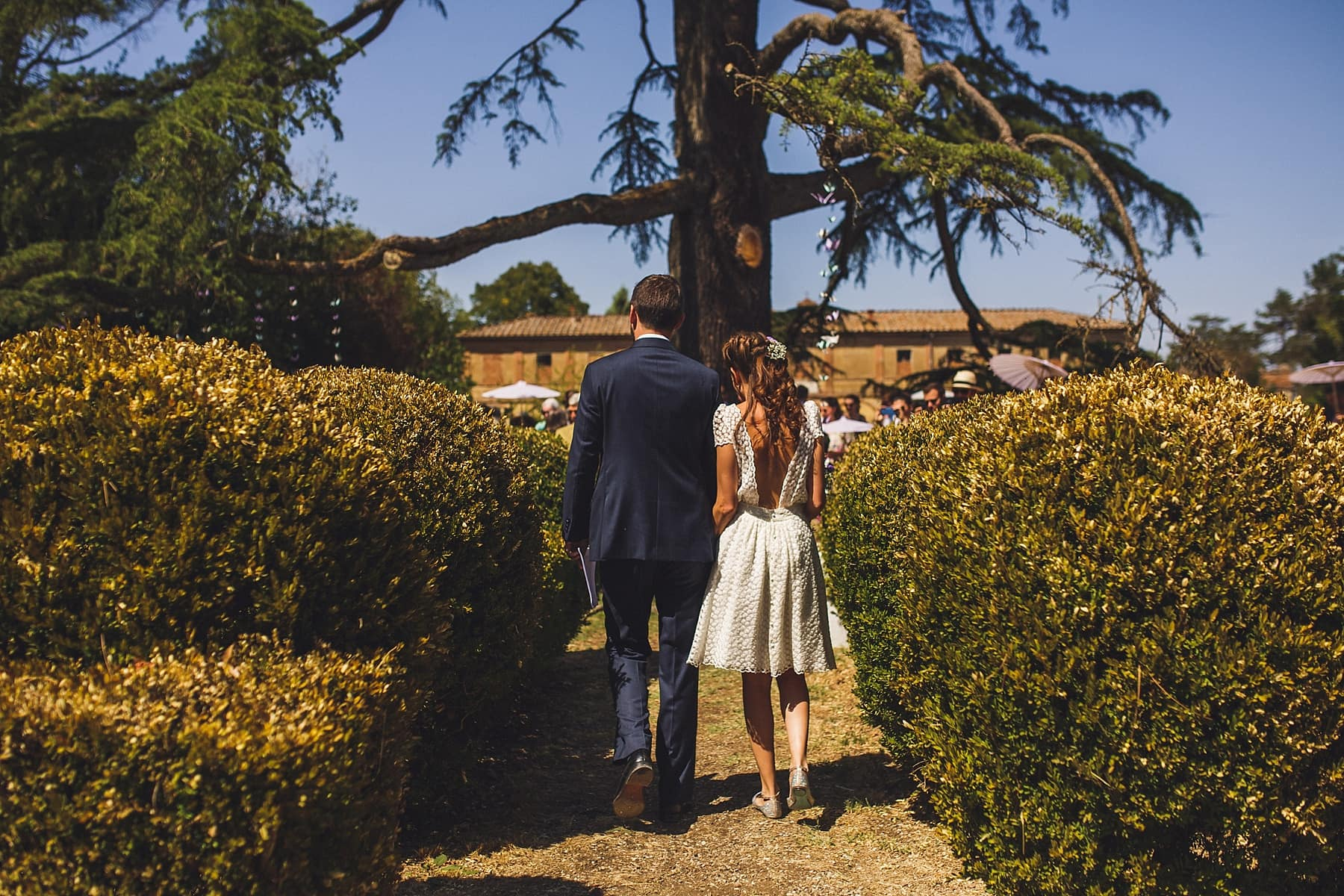 Outdoor Destination Wedding Ceremony,Tuscany Photographer,