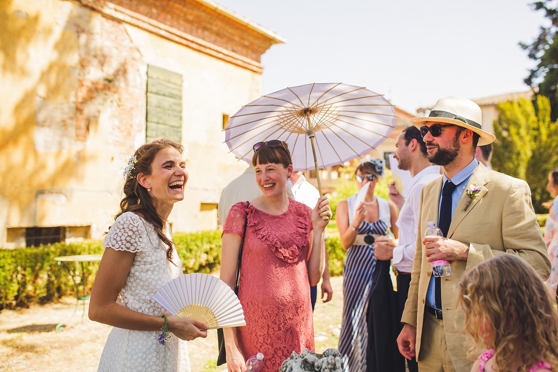 Tenuta La Fratta Outdoor Wedding Ceremony,Sienna Wedding Photographer,