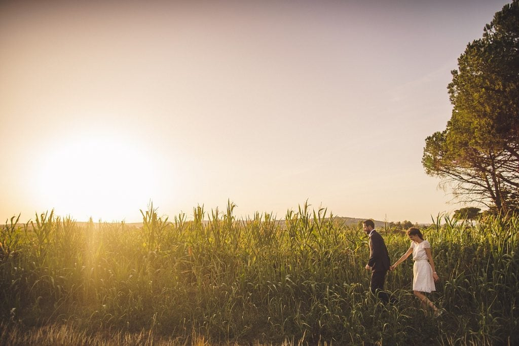 Bride Groom Tenuta La Fratta Tuscany Wedding Photographer