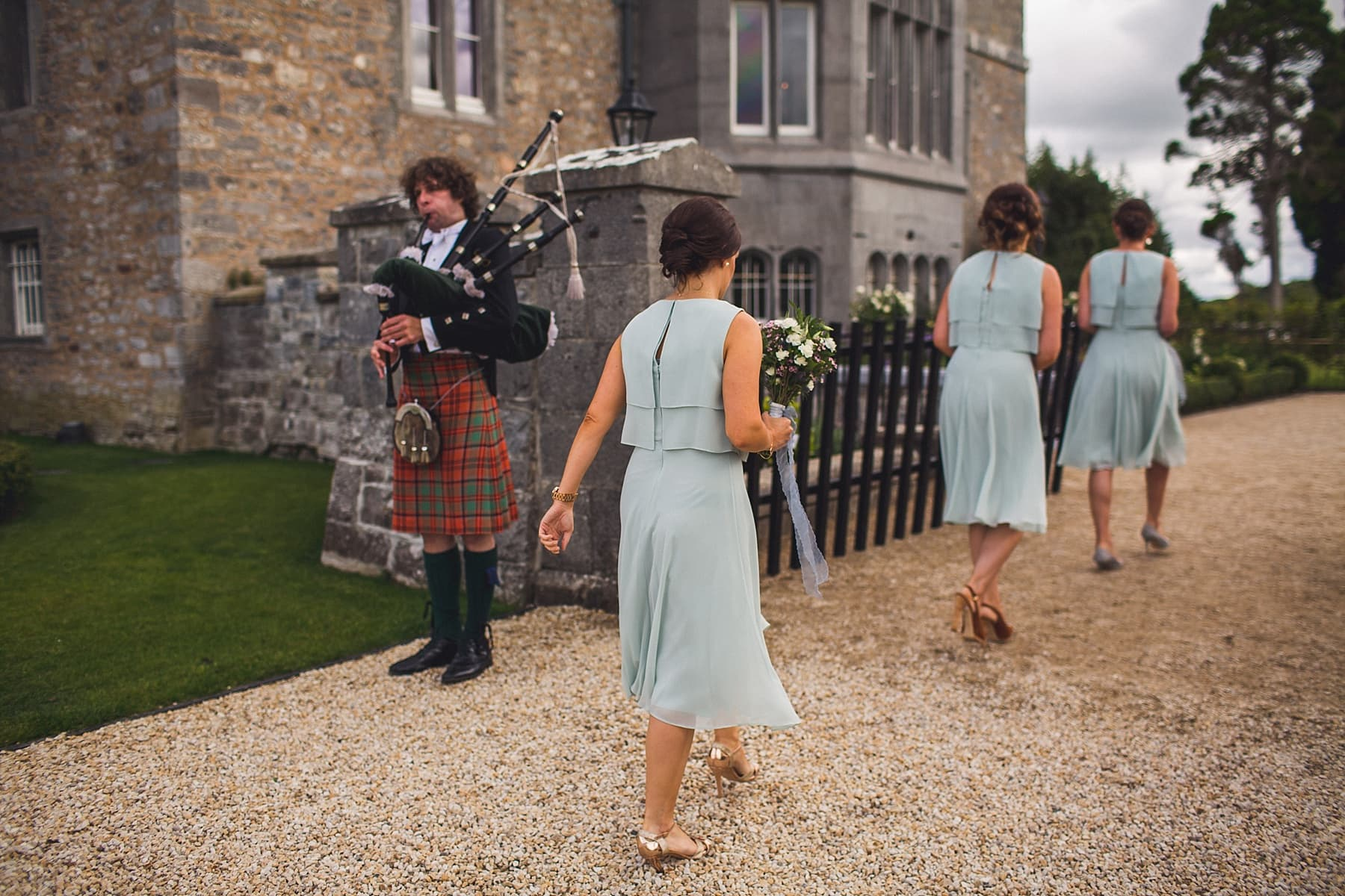 Markree Castle wedding photographer,irish humanist ceremony,yew tree,