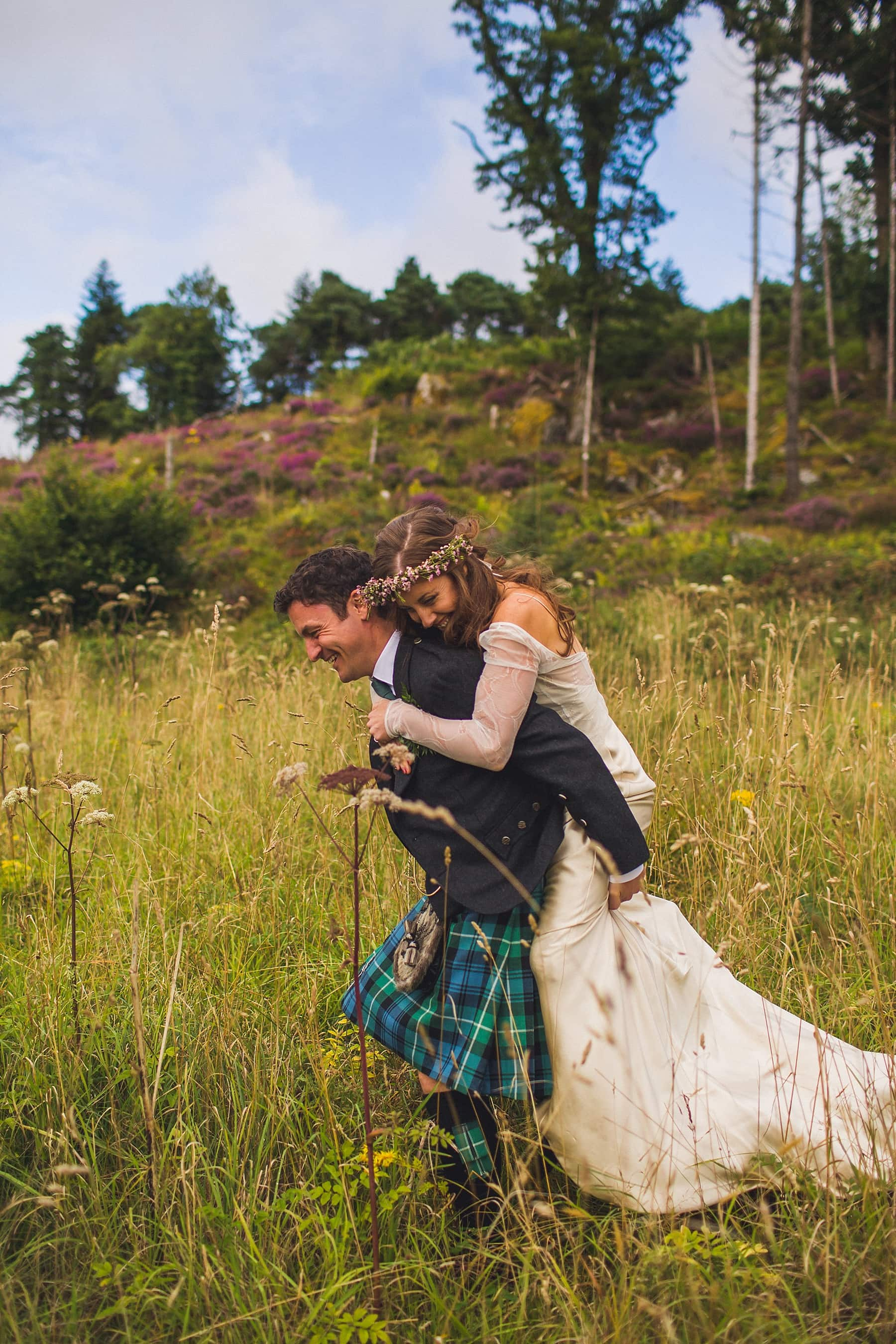 Irish wedding photographer,creative photography,laid back wedding,bare foot bride,