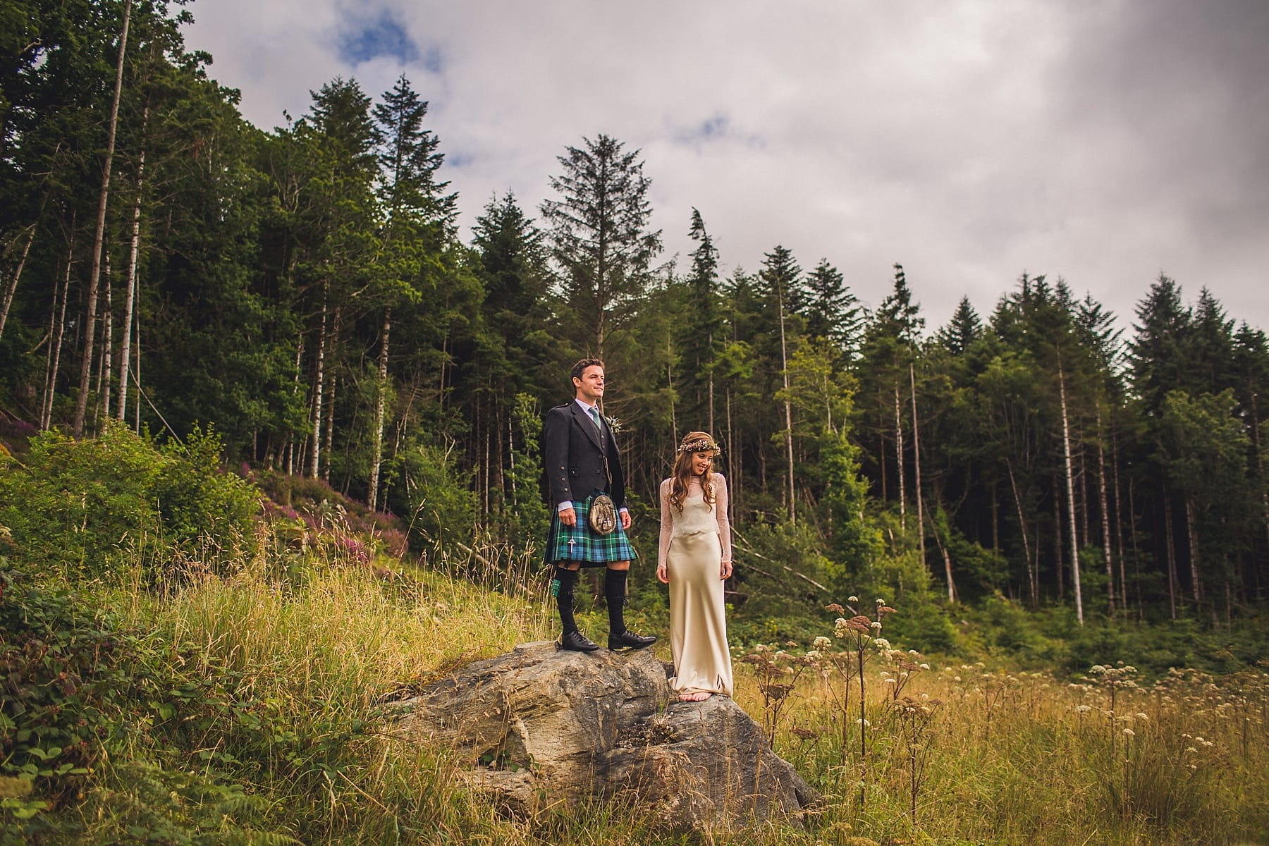 northern irish wedding photographer,adventurous wedding,wedding inspiration,floral hair crown,