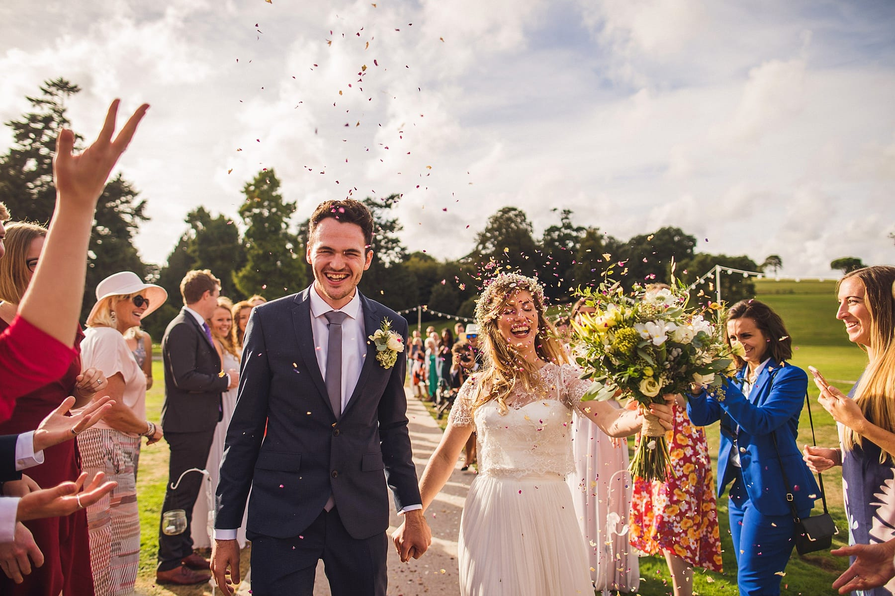 ireland wedding photographer,dublin city wedding,langton house hotel,port eliot cornwall wedding,lough shore antrim,woodland engagement,confetti shot,luttrelstown castle,ivory pavilion,