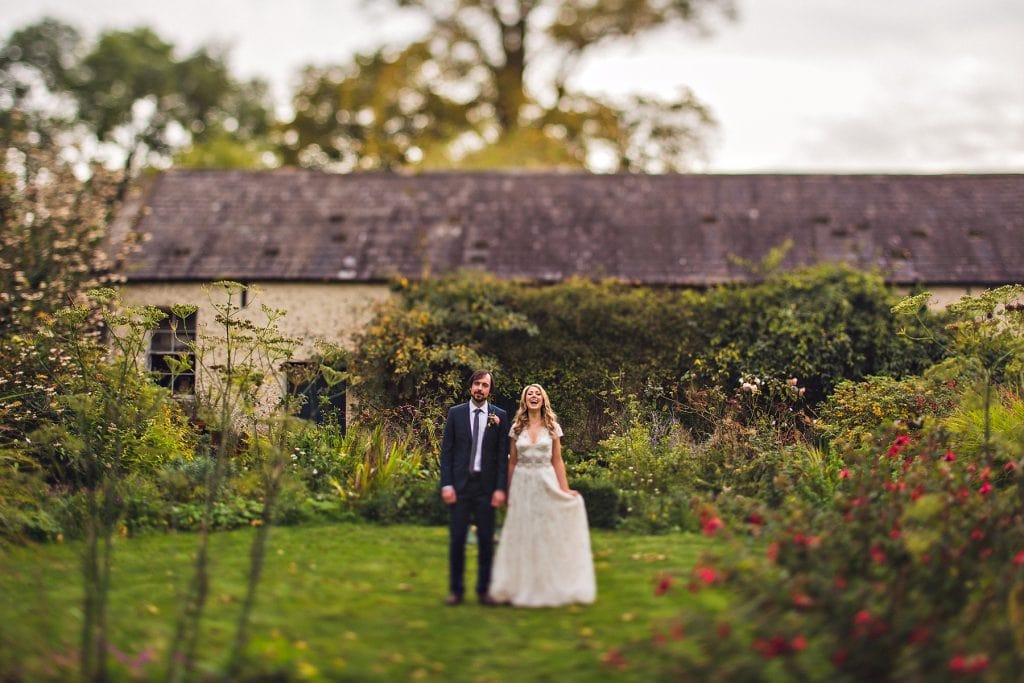 Bride & Groom at Borris House Wedding | Irish Wedding