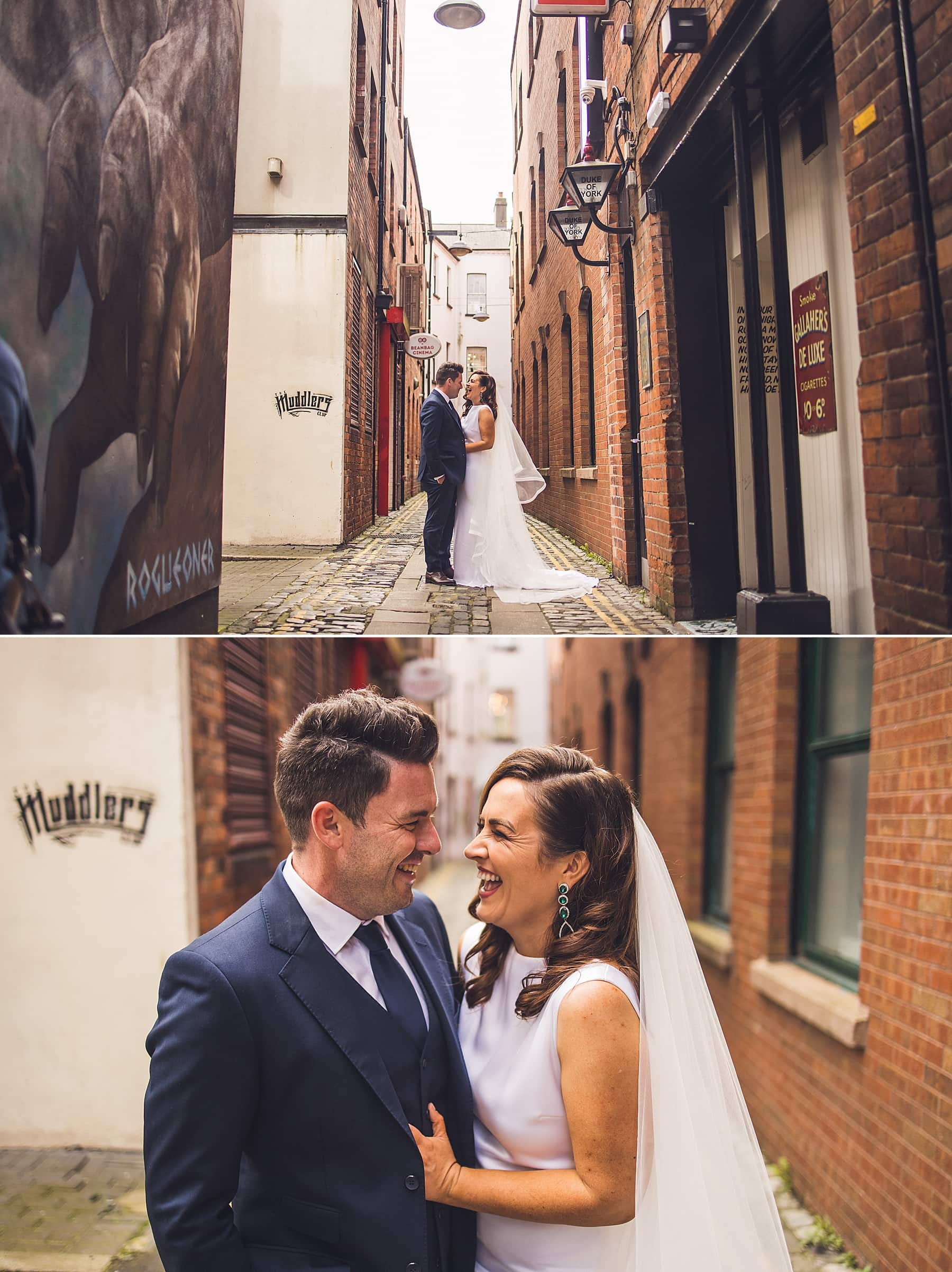 Belfast City Wedding Photographer,Titanic Hotel Wedding,Cathedral Quarter,Duke of York,Navyblur Photography,